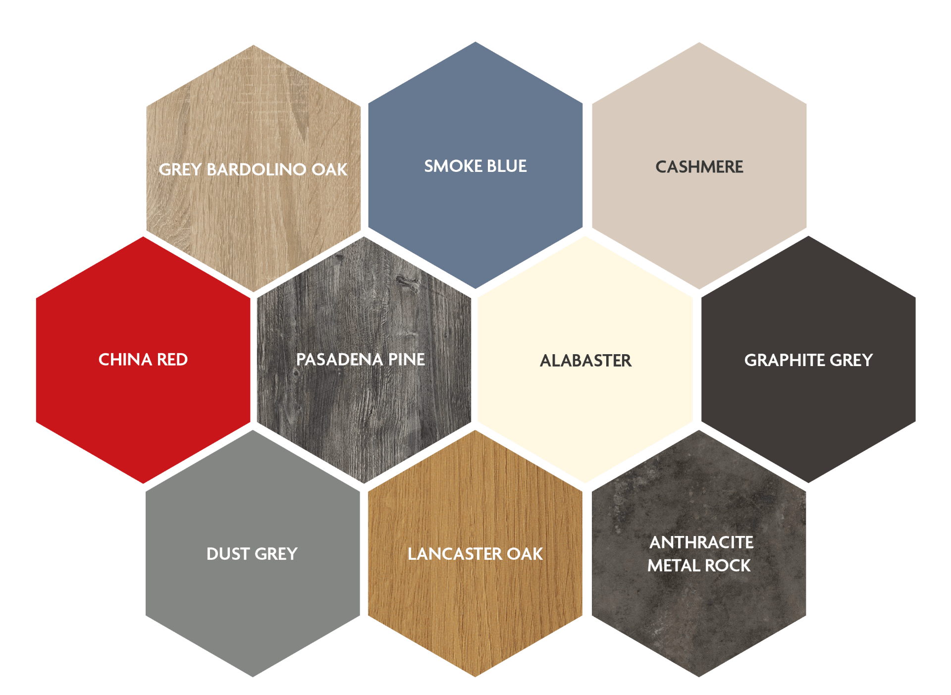Colour options available for your customised Beespoke home office furniture