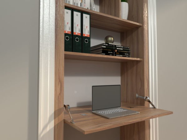 Render of a Beespoke Office Space